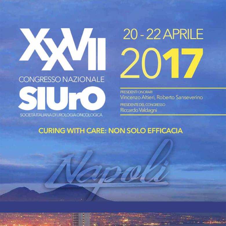 XXVII Congresso Nazionale – SIURO – 20-22 Aprile 2017 – Napoli