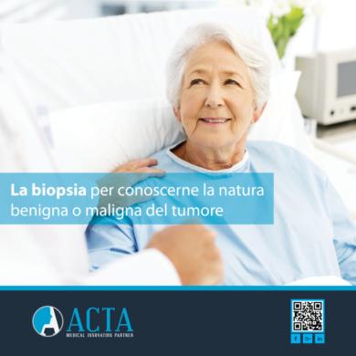 Biopsia si pratica in casi come per i tumori per conoscerne la natura benigna o maligna