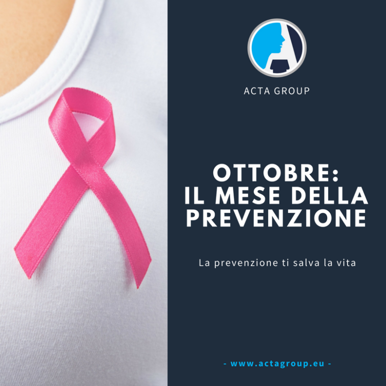 Tumore al seno: la prevenzione ti salva la vita