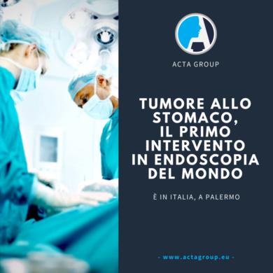 Tumore allo stomaco, a Palermo il primo intervento in endoscopia del mondo